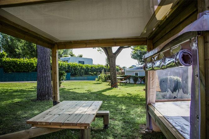 campétoile 4 personnes camping hendaye