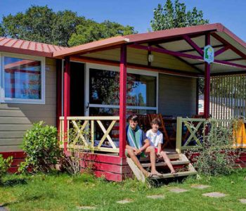chalet camping pays basque