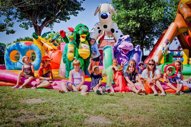 club enfants camping ametza