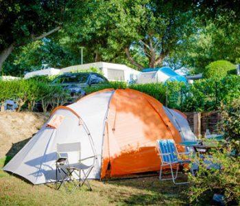 emplacement non électrifié camping ametza
