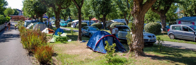 emplacement sans électricté camping hendaye