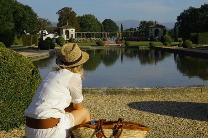 jardins Villa Arnaga camping hendaye