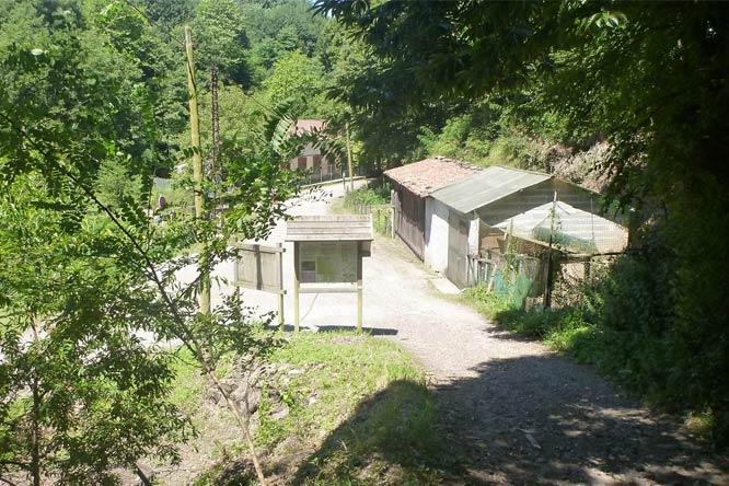 route irun camping ametza