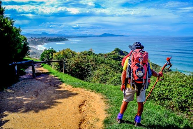 sentier littoral Bidard camping ametza