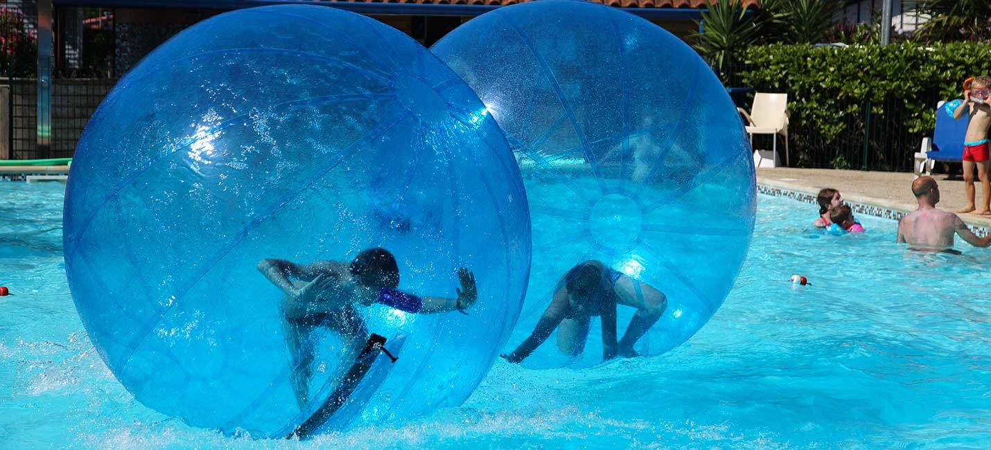camping avec activités piscine au pays basque