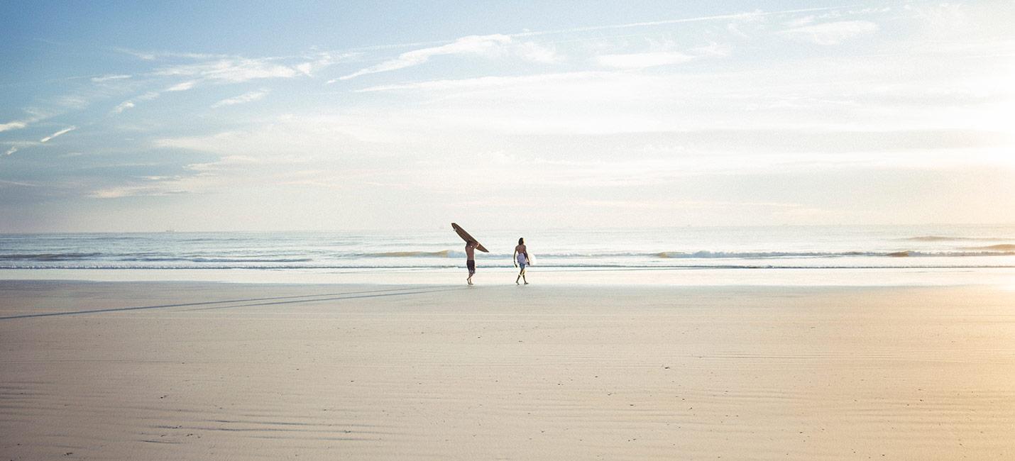 camping en bord de plage au pays basque