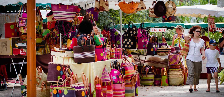 les marchés camping hendaye