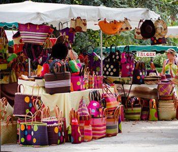 marchés camping ametza hendaye