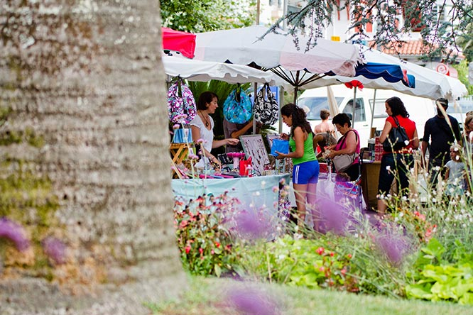 marchés camping pays basque