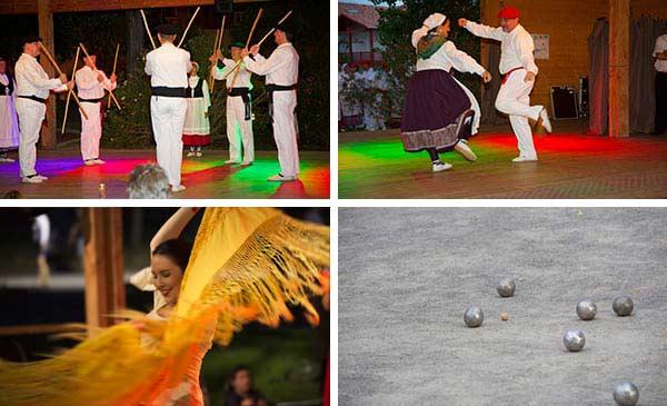 danse traditionnelle camping côte basque