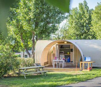 camping avec location insolite au pays basque