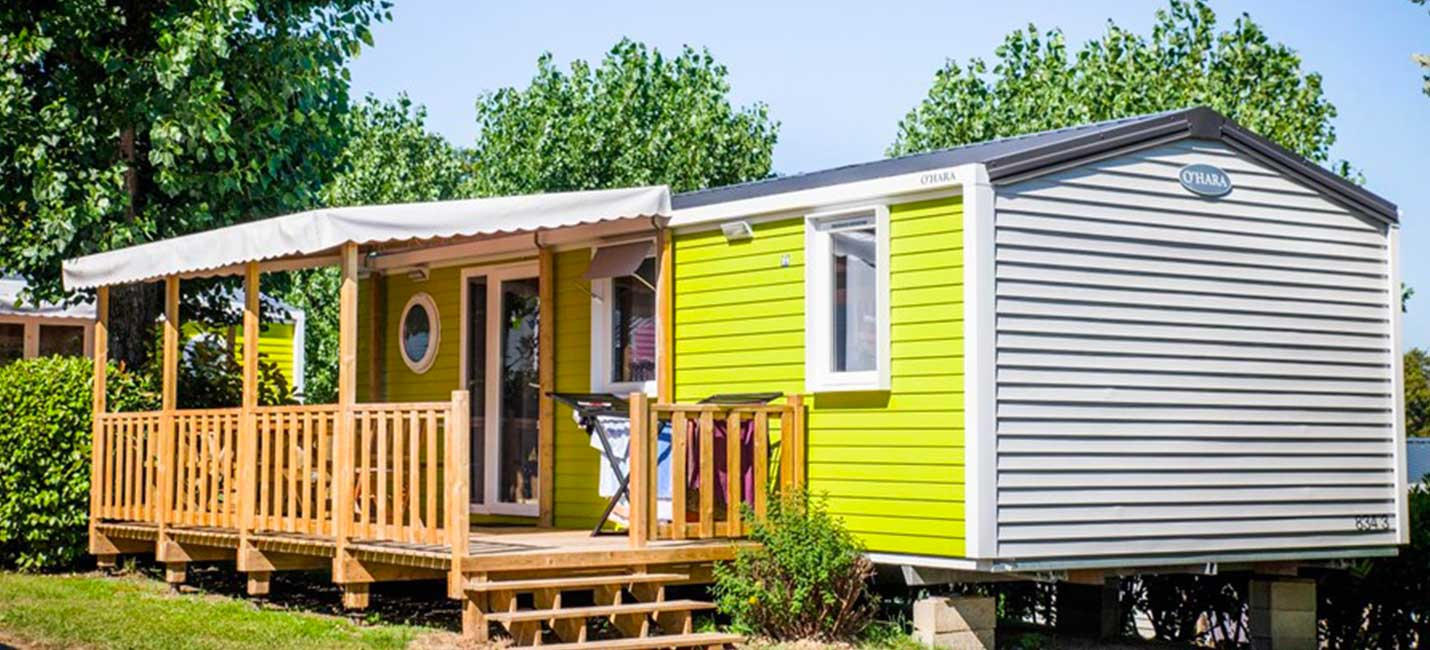camping au pays basque avec mobil-home